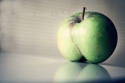 Pomme en forme de fesses