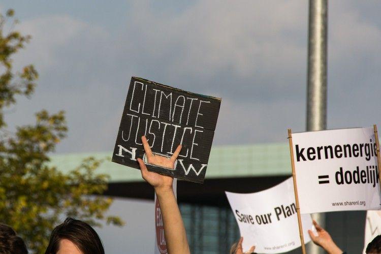 manifestation justice pour le climat